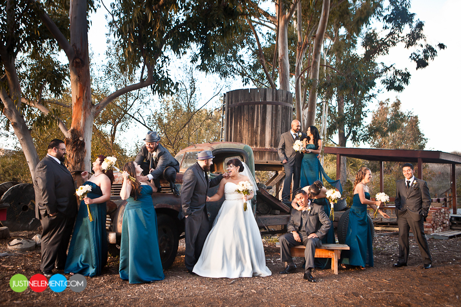 Heritage Museum Vintage Themed Rustic Wedding 21