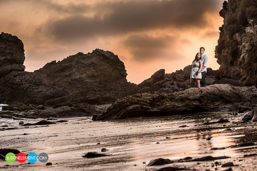 UCI University Irvine Middle Earth Dorms Ring Road Sunset Beach Corona Del Mar Engagement Session 5