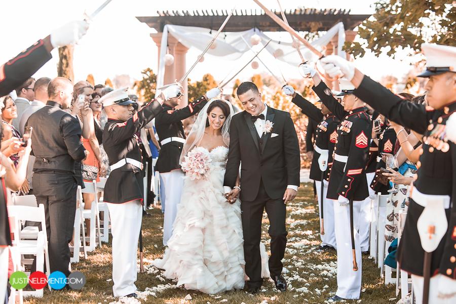 Santa rosa estate wedding