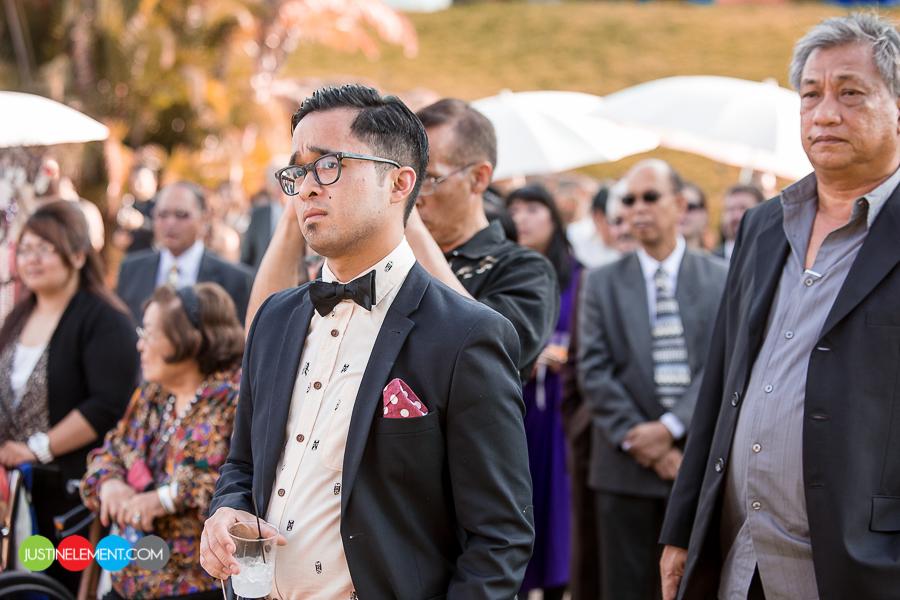 Anaheim mansion wedding