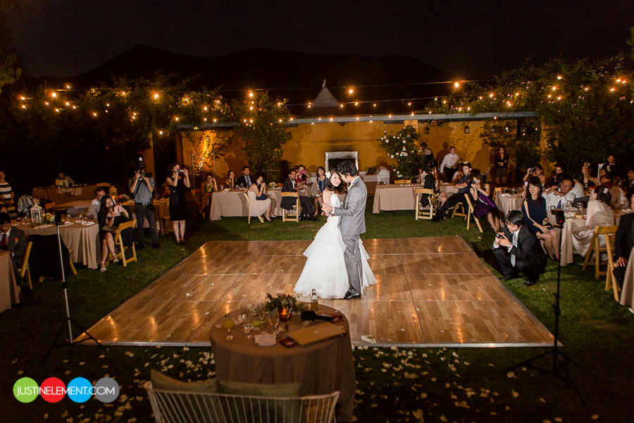 Malibu rancho del cielo garden sunset wedding 55 for Las vegas sunset weddings