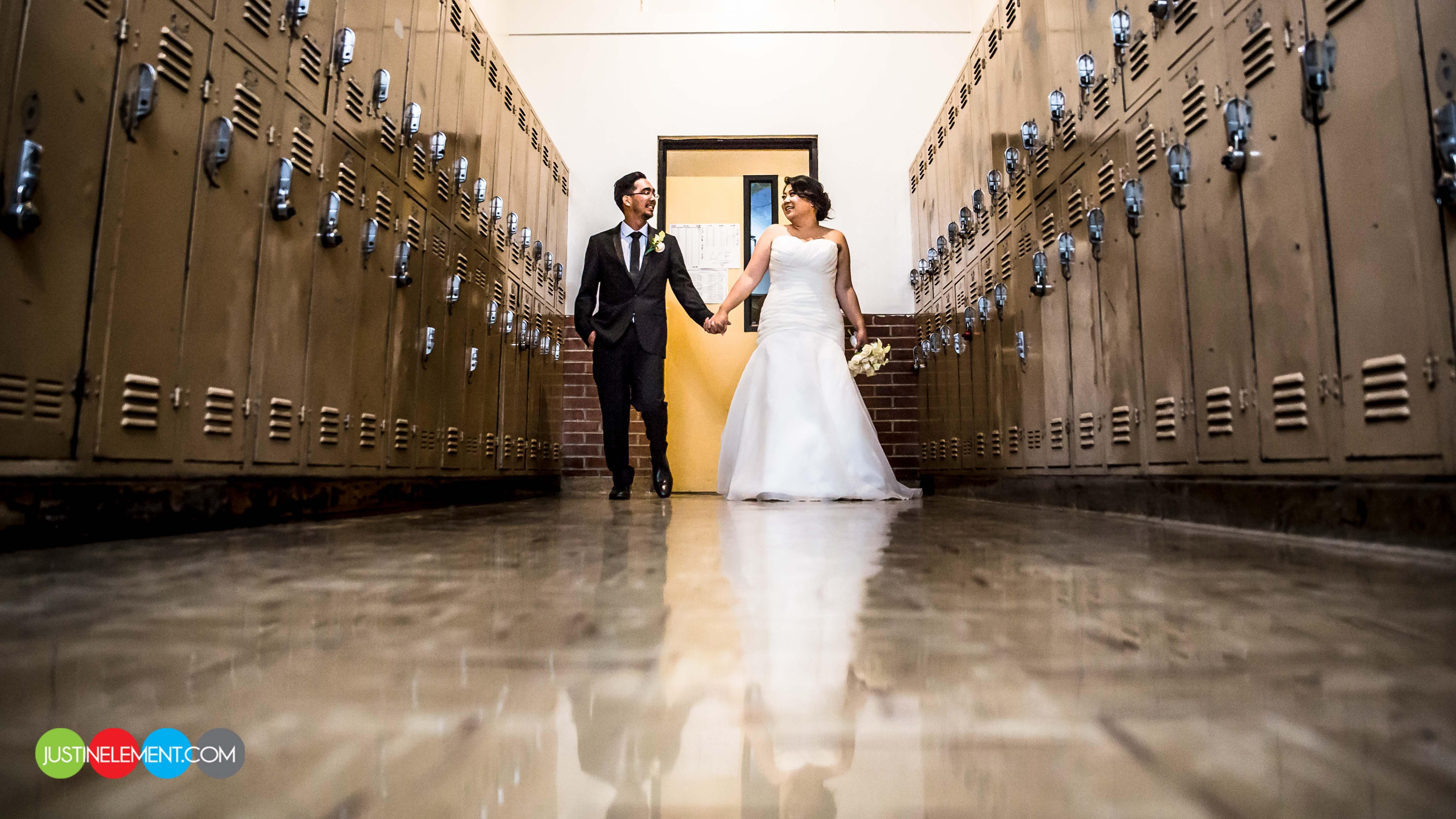 Char Mike Wedding Photos Luminarias Monterey Park