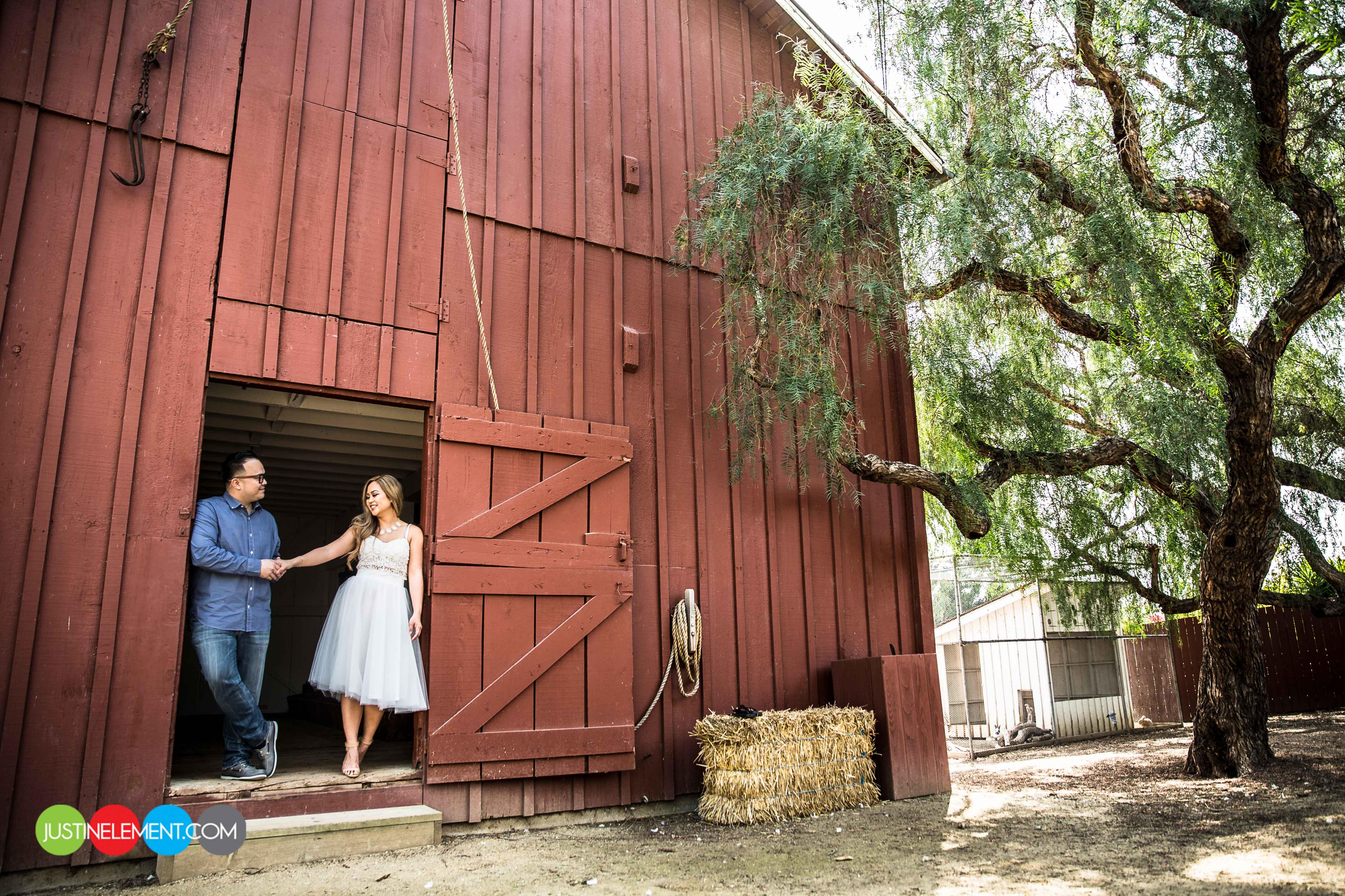 Rancho Los Alamitos Rustic Barn Engagement Photos 1 - barn wedding los angeles