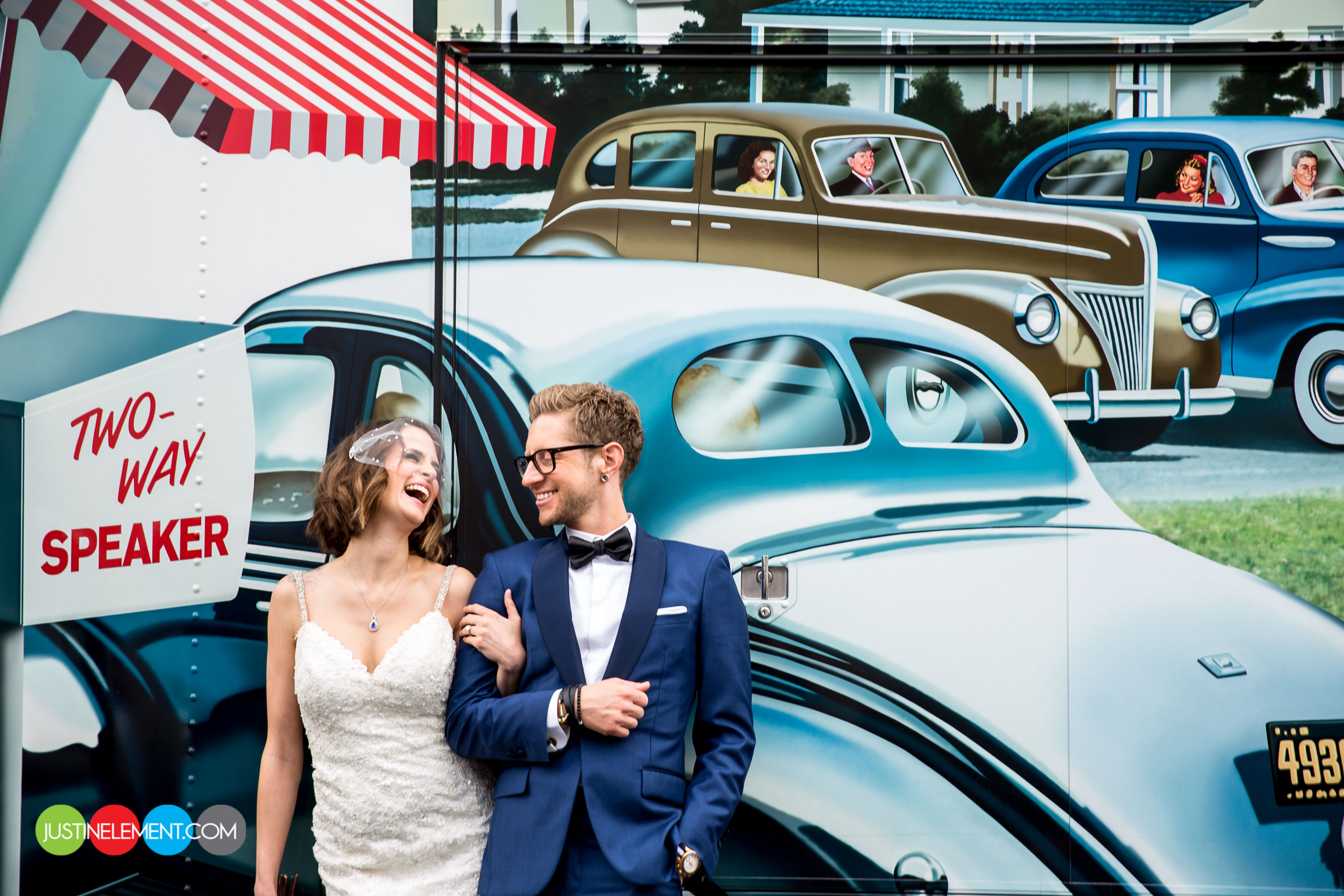 Soshanna + Tab    Wedding Photos    Crevier Classic Cars ...